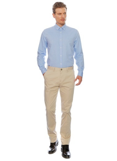 Cotton Bar Pantolon Bej